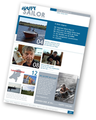 Happy Sailor kwartaalmagazine voor alle watersporters